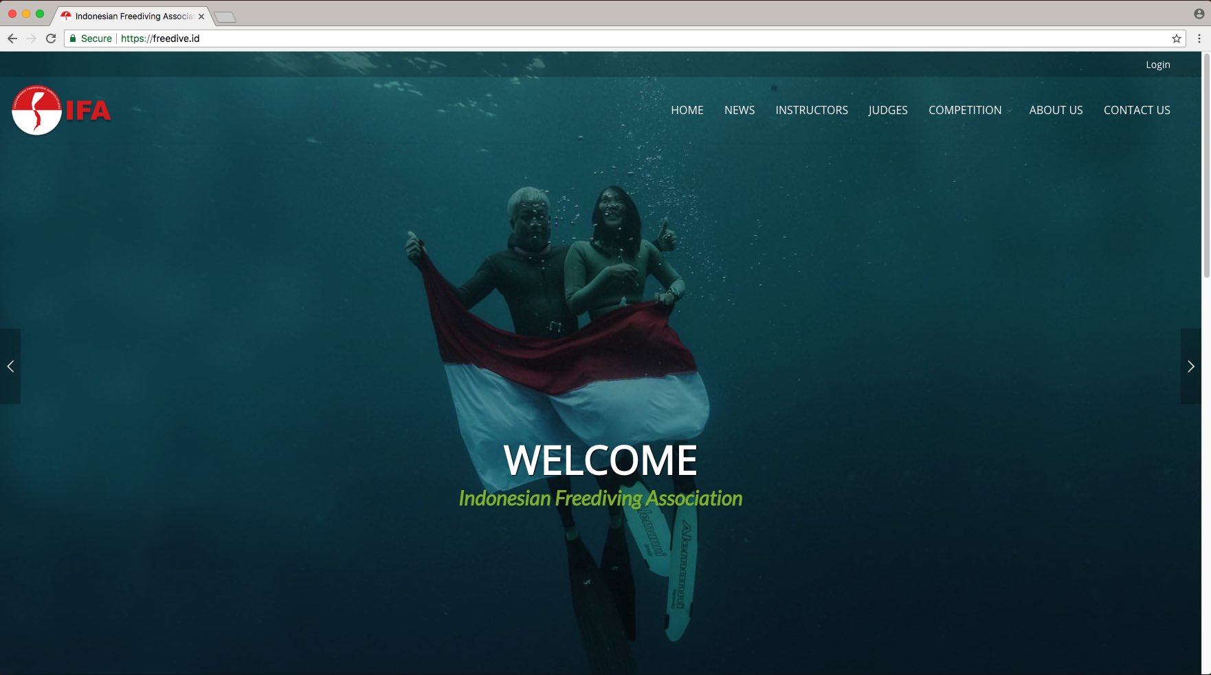 Portfolio Karyampat - Indonesia Freediving Association
