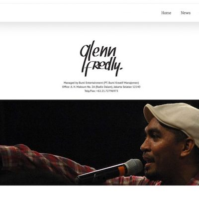 Portfolio Karyampat - Glenn Fredly Official Website